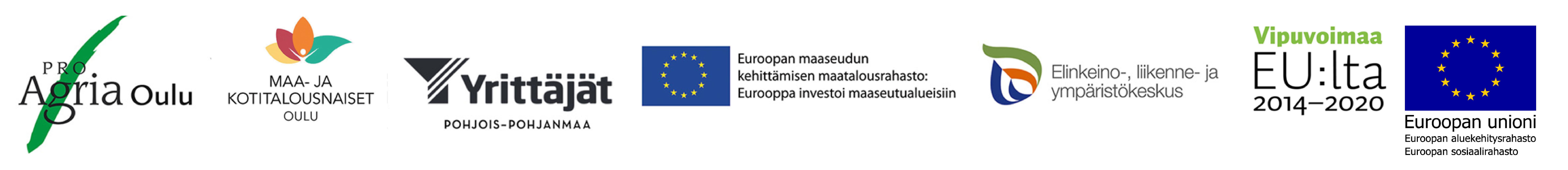 Avaimet yrittäjyyteen, Tästä selvitään ja Vieraskasvit hallintaan -hankkeet, järjestäjät ja rahoittajat